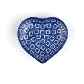 Schaaltje Hart  Blue Diamond