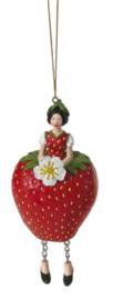 Bloemenmeisje Aardbei