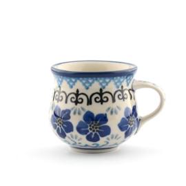 Espresso mok Bunzlau Castle Blue Violets