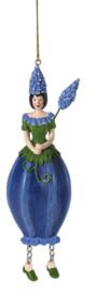 Bloemenmeisje Blauw Druifje