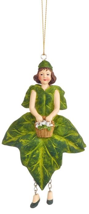 Bloemenmeisje Klimop