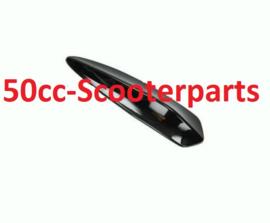 Sierstuk voorspatbord Vespa primavera sprint zwart glans DMP 38598