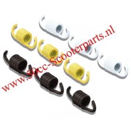 Trekveren Set Malossi 9-delig zwart geel wit 297454