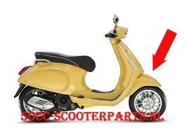 Voorspatbord Vespa Sprint Geel 968-A origineel 67364400l5