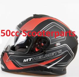 Helm Thunder III SV Trace zwart / rood L 105535606