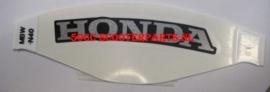 "Sticker  "" Honda "" Achterkant Honda CBR 600F - 77217MBWN40ZC"