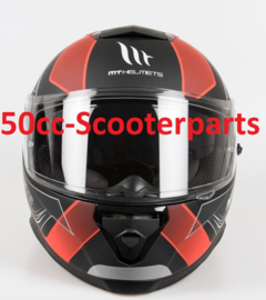 Helm Thunder III SV Trace zwart / rood XL 105535607