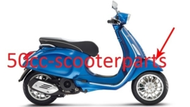 Voorspatbord Vespa Sprint blauw azzurro 261/a 67364400dq