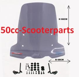 Windscherm Niu N Serie Scooter Hoog Smoke 4253