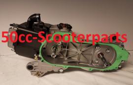 Motorblok Agm Bella Fosti Retro scooter blok gy6 139QMB 4T Kaal compleet 10inch