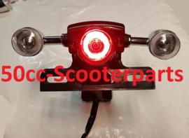 Koplamp + Achterlicht + Knipperlichten Led Agm Btc Retro scooter 444117CH