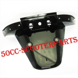 Achterspatbord zwart Turbho Rl-50 Iva Lux 50 BTC RIVA Vespelini 80102-B08-9300Z