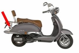 Opvulbus achterdrager Agm Bella Fosti retro scooter 363636