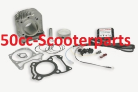 cilinder + cdi Vespa Primavera Sprint 125 - 150, 63mm malossi 3116550