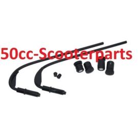Bevestigingsset windscherm (voor smoke 42872) Sprint 38161