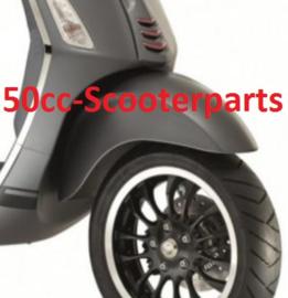 Spatbord voor Vespa Sprint grijs Titanio 742/B 29ve985