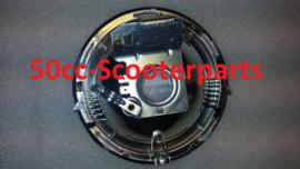 Koplamp inbouw unit voor Vespa PK50S en PK50XL 215399