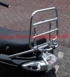 Bagagedrager opklapbaar Piaggio Fly chrome 41267