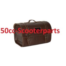 Custom koffer leer Vespa Lx s Lxv universeel Bruin 128196