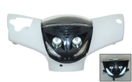 Koplamp Carbon Met ledverlichting Piaggio Zip2000 41541