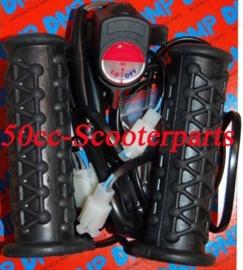 Handvatten zwart Met Regelbare Verwarming 120991