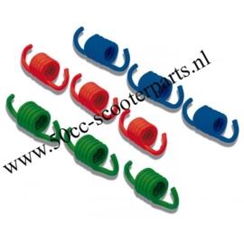 Trekveren set malossi 9-delig 180cc 299644 blauw-groen-rood