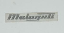 Malaguti Centro logo f12r op carter origineel 18143000