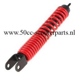 Schokbreker achter Vespa lx S 345mm rood 649459