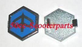 """Piaggio Logo Embleem Teken """"6-kant"""" 295486"""