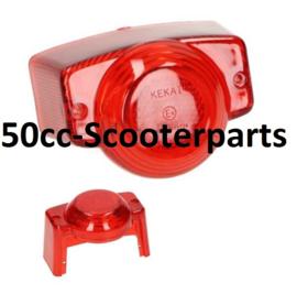 Achterlichtglas Retro Scooter 78390
