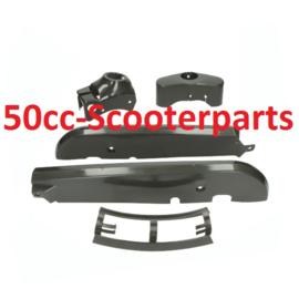 Plaatwerkset plastic kreidler antraciet 45307