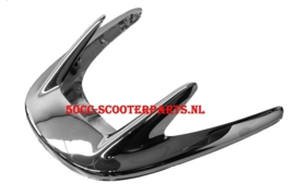 Bumper chrome compleet Agm bella Fosti Retro scooter 78091 / 78092