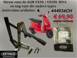 Antirobos stuurslot Agm Vx50 Btc Riva 444034CH