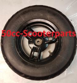 Achterwiel 10Inch Peugeot Ludix 10 Snake Gebruikt origineel 763490N