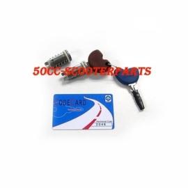 Contactslot chipkey ET4 + code card ET 4 slot 125cc Lx S Lxv Vespa 573430