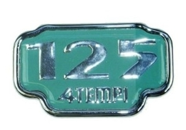 Logo Vespa Et4 125cc origineel 577125