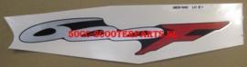 "Sticker  "" 600F "" Links achter Honda CBR 600F - 83619MBWN40ZA"