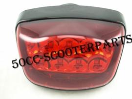 Achterlicht led zwart Turbho Rl-50 Iva Lux 50 BTC RIVA Vespelini 33700-ALA6-9000