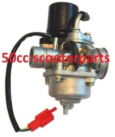 carburateur + electrische choke  cpi  tgb keeway 67874