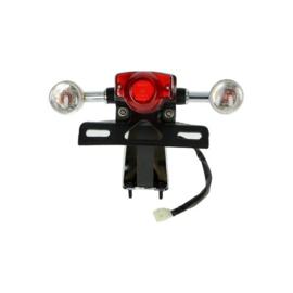 Achterlicht compleet bella retro tori agm scooter wit 136269