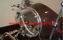Koplamprand luifel Vespa Lx chrome DMP 41366