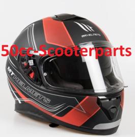 Helm Thunder III SV Trace zwart / rood XXL 105535608