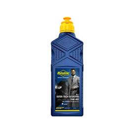 Olie 5W40 vol synthetisch ester tech scooter 4+ 1L fles putoline 103221