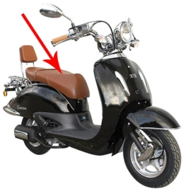Zadel Bruin Agm bella fosti Retro Scooter 110100000Bzb