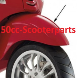 Spatbord voor Vespa Sprint rood 894 29ve982