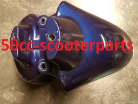 Voorspatbord Peugeot Vivacity blauw 1173949900 origineel gebruikt