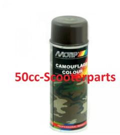 Spuitbus Army Olive bruin 400ml Motip M4202