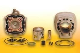 70cc cilinder + Kop Peugeot Speedfight LC 2T Malossi MHR Replica 319477
