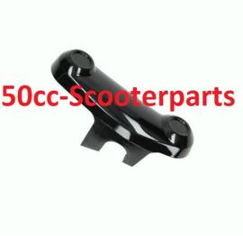 Beschermkapje voorvork glans zwart  Vespa Primavera Sprint 38595
