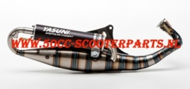 Uitlaat Yasuni Carrera City 16 Black Edition Piaggio 2T - Tub428B 70682